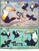 Sol and Terra Toucan Refs!