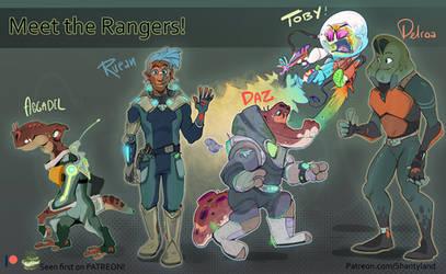 Ranger/Alien Adopts! (auction!)
