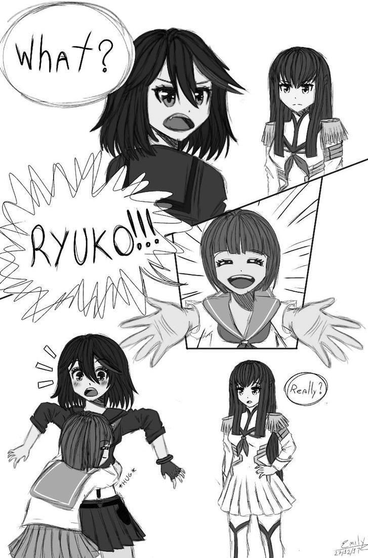 [Comic]  Kill la Kill Comic by PinkPearlMLP