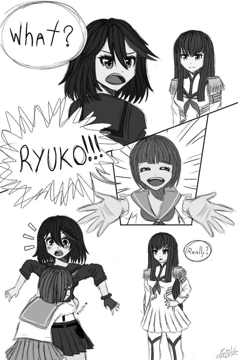 [Comic]  Kill la Kill Comic by Hiyori-Yamada