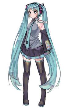 Fanart - Hatsune Miku