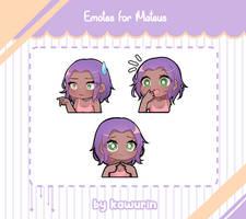 Commission - Emotes Mateus