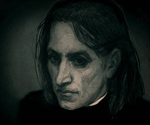 obscure Snape by ness112