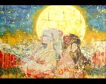 under moonbeams by hayapi