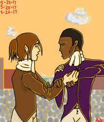 Aaron Burr, Sir by Baloogawhales