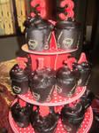 Brownies Cupcake Tower