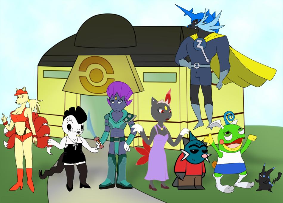 La Casa de los Pokemon by Xander3000