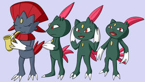 Weavile Number One but Sneasels too