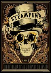 Steampunk calendar