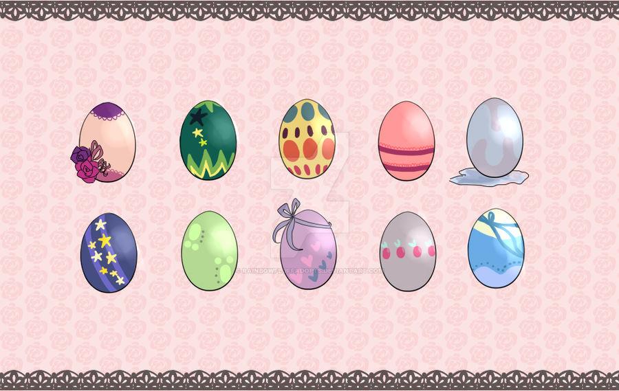.::Custom Egg Adoptables: 1::.