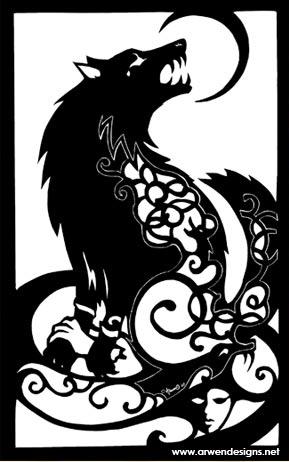 Fenrir wolf symbol - photo#31