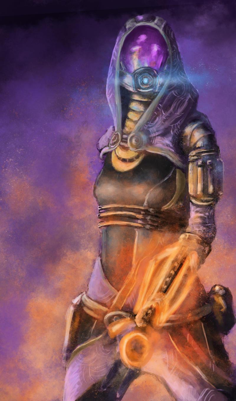 Mass Effect - Tali'Zorah by jocker909