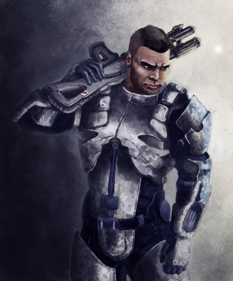 Mass Effect - James Vega by jocker909