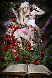 Sleeping Beauty wakes up early by Ophelia-Overdose