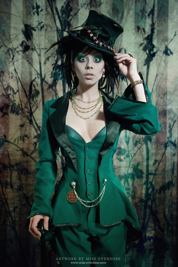 The portrait: Mad Hatter by Ophelia-Overdose