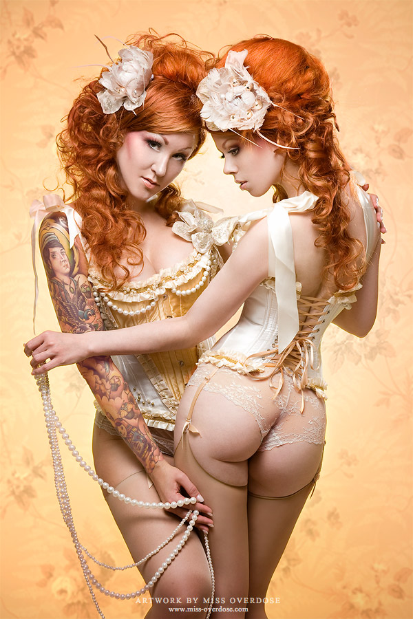 Soulful sisters by Ophelia-Overdose