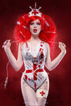 Psycho nurse by Ophelia-Overdose