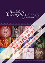 OPHELIA OVERDOSE calendar 2013