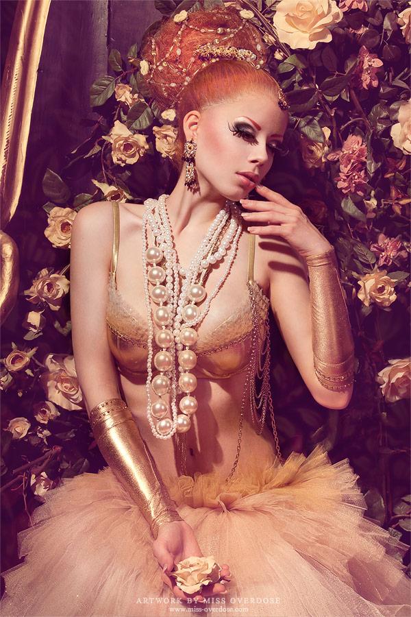 Vanilla rose by Ophelia-Overdose