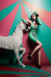 Spearmint carousel by Ophelia-Overdose