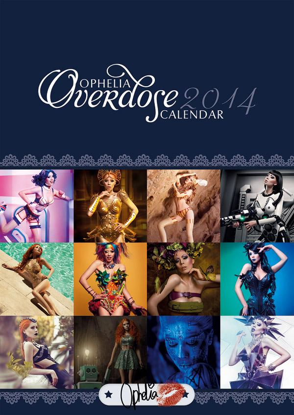 OPHELIA OVERDOSE calendar 2014 by Ophelia-Overdose