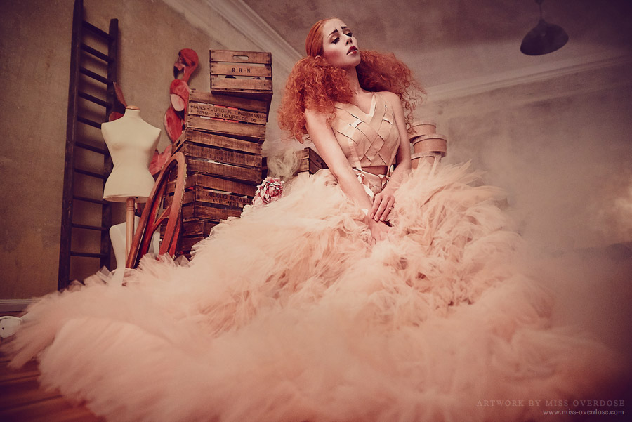 Flamingo Dance by Ophelia-Overdose