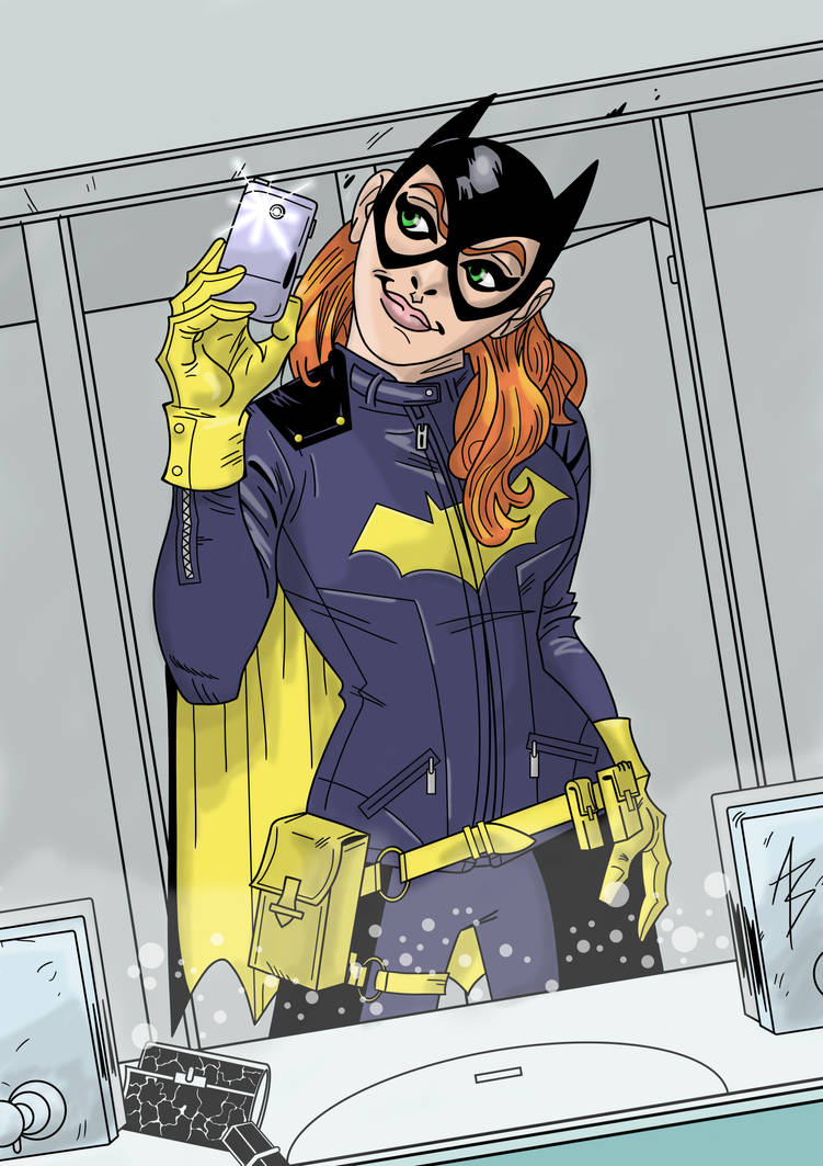 Batgirl Selfie By Andreabocci On Deviantart
