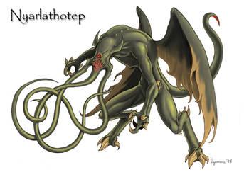 Nyarlathotep by lyconeus