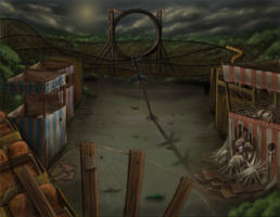 Abandoned Amusement Park by lyconeus