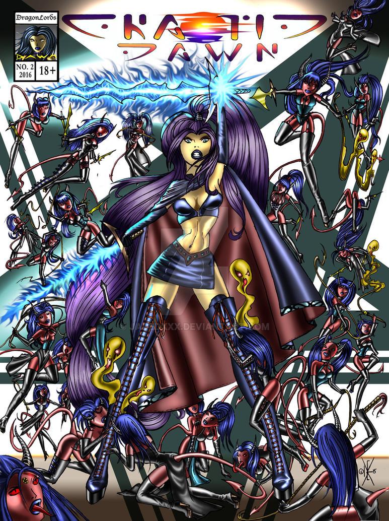 Chaotic Dawn: Dark World Cover by Jadedxxx