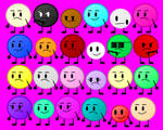 Color Overload Contestants Poster by Jordan2048
