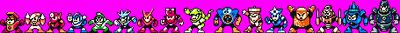 Mega Man 2 and 3 Height Order by Jordan2048