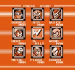 Mega Man 2 Orange Stage Select Screen by Jordan2048