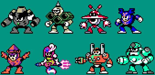 The Chimerabots of the Giga Man series by Jordan2048