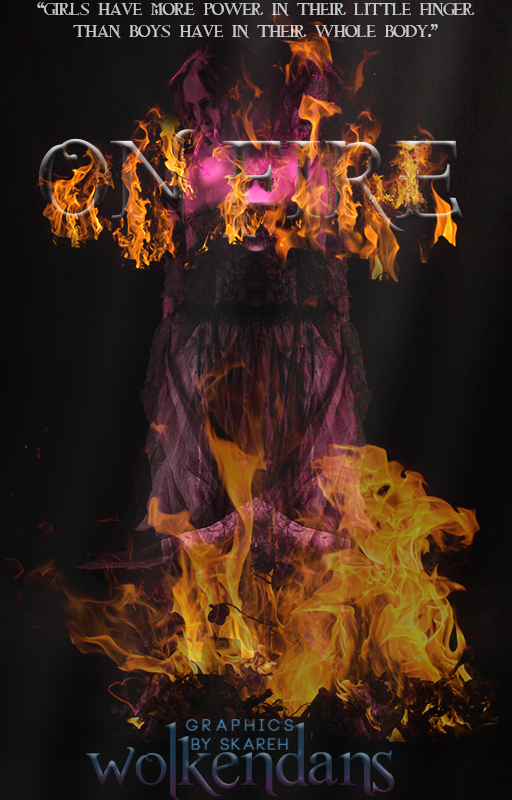 On fire by GraphicsbySkareh