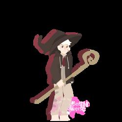 Shy Snake Sorcerer [Halloween Countdown 2019]