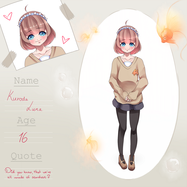 Kingyo High - Kuroda Luna by Yurikax3chan