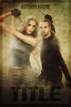 Cover Design Contest - Couple fighting poses 1