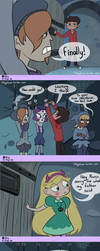 KEY- Star vs The forces of Evil, Mini Comic by diligi
