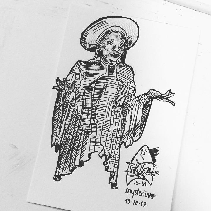 Inktober 15-31 mysterious by SchmidtMatDT
