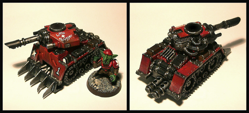 Grot Rebels Little Bugger Tank by Proiteus
