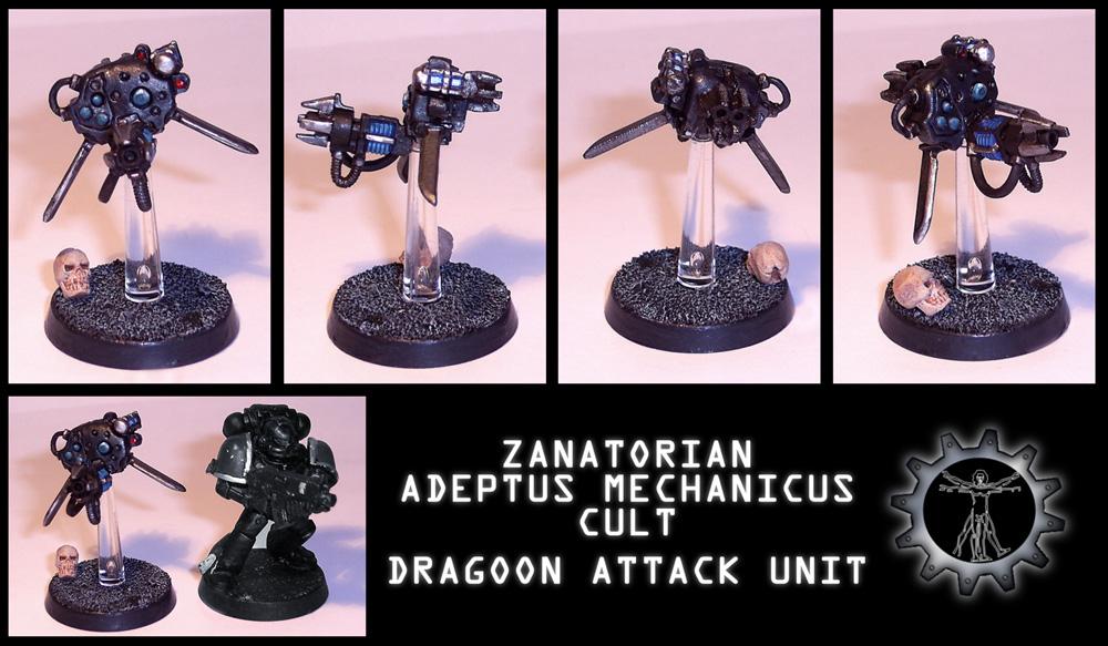 Zanatorian Dragoon Miniature by Proiteus