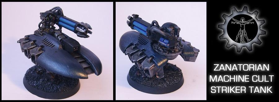Zanatorian Striker Tank by Proiteus