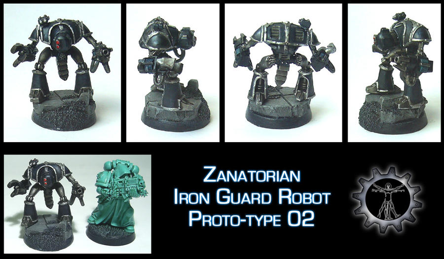 Iron Guard Mock Model 02 by Proiteus
