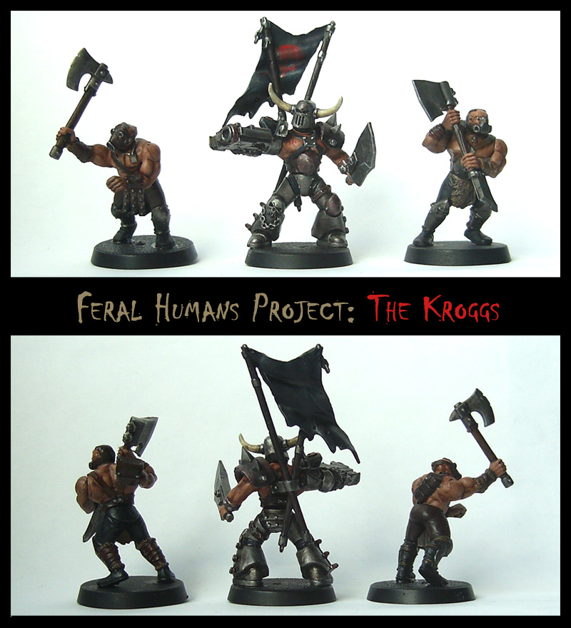 Feral Human Models: THE KROGGS by Proiteus