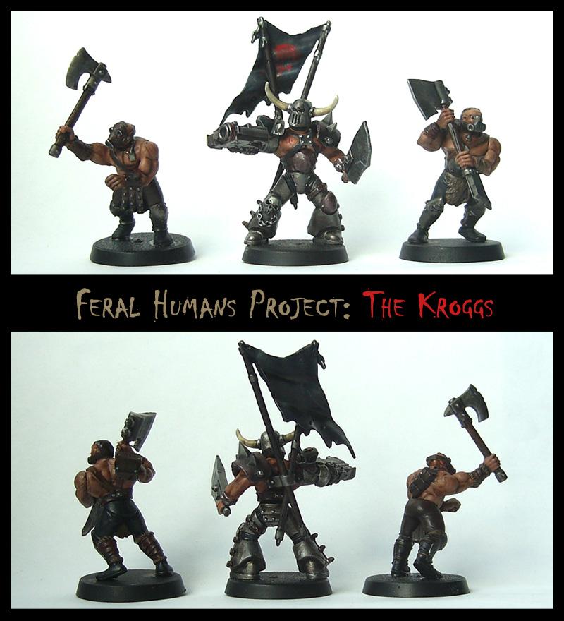 Feral Human Models: THE KROGGS by Proiteus