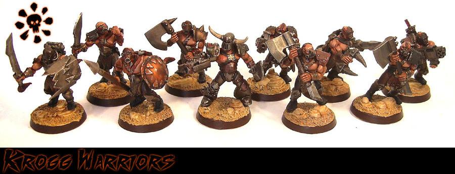 Feral Humans - Krogg Warriors by Proiteus