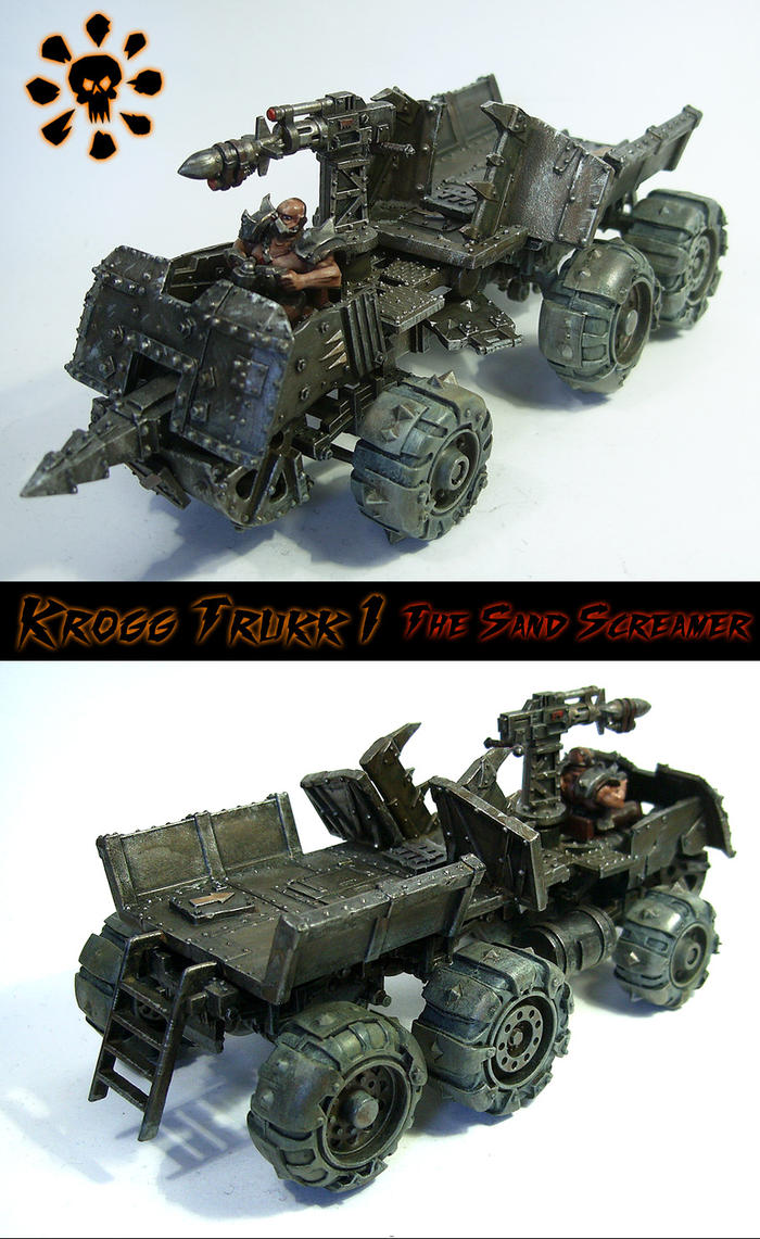Feral Humans - Krogg Trukk 1 by Proiteus
