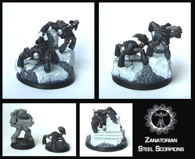 Zanatorian Steel Scorpions by Proiteus
