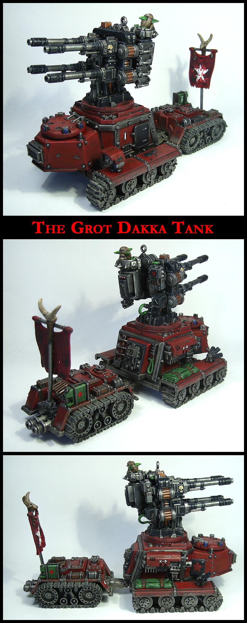 Grot Dakka Tank by Proiteus